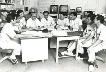 日本医大CCU症例検討会(昭和53年頃)
